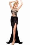 Embroidered-Mesh-Wrap-Maxi-Dress-LC6839